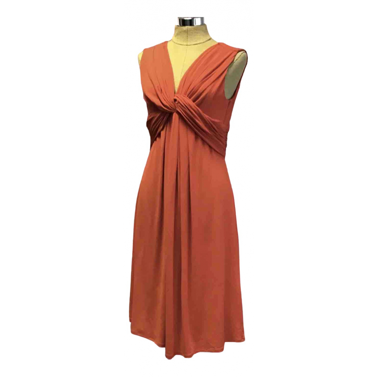 Max Mara Studio \N Kleid in  Orange Polyester