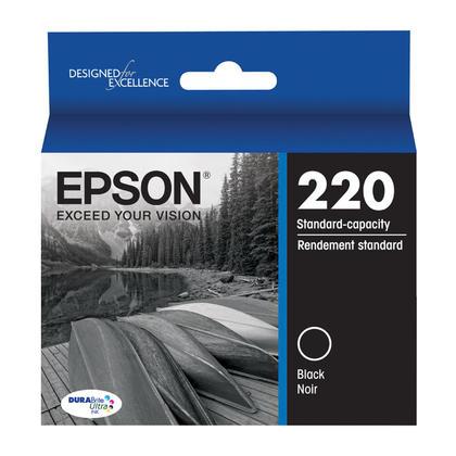 Epson T220 T220120 cartouche d'encre originale noire