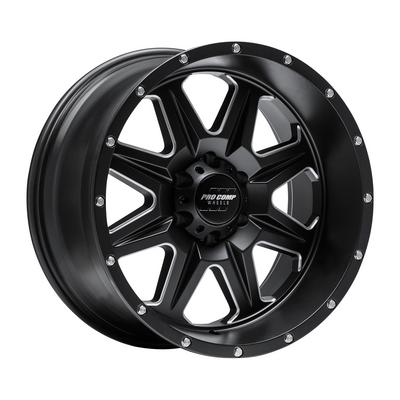 Pro Comp 63 Series Recon, 20x10 Wheel with 6x135 Bolt Pattern - Satin Black Milled - 5163-213647
