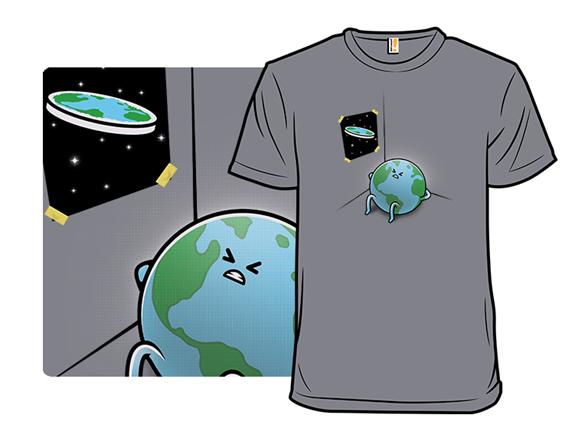 Flat Earth Workout T Shirt
