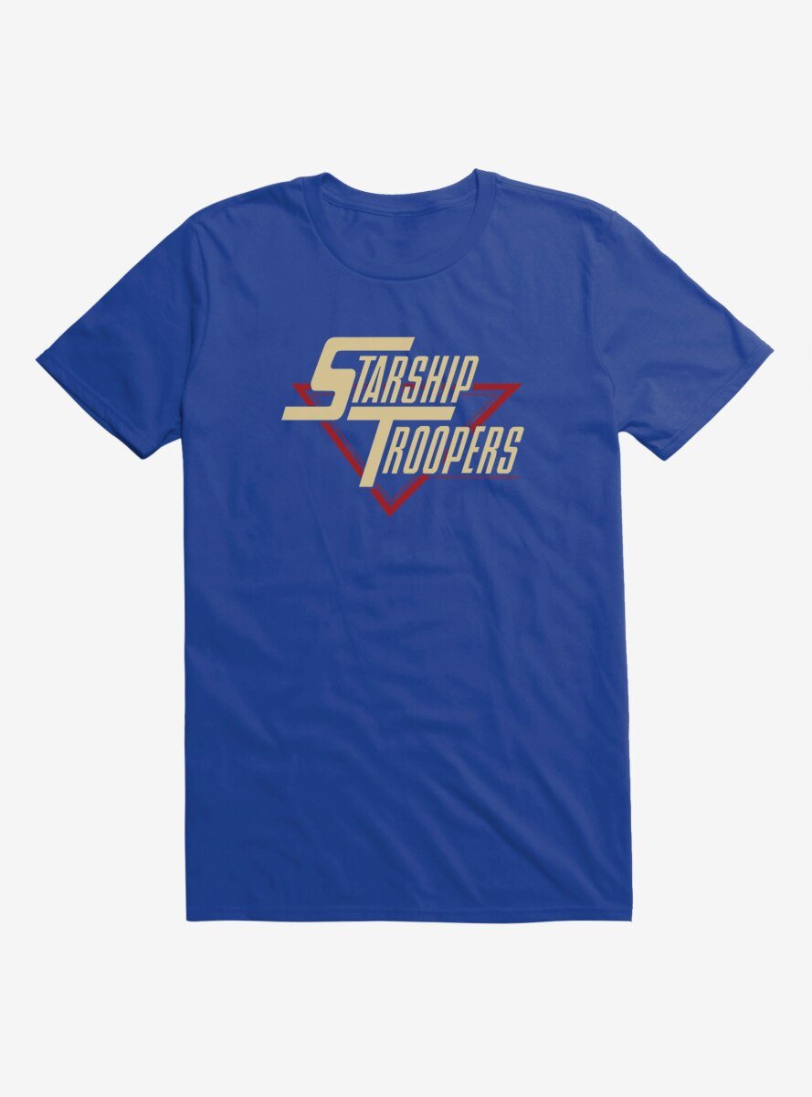 Starship Troopers Title T-Shirt
