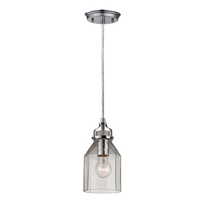46019/1 Danica Collection 1 Light mini Pendant in Polished
