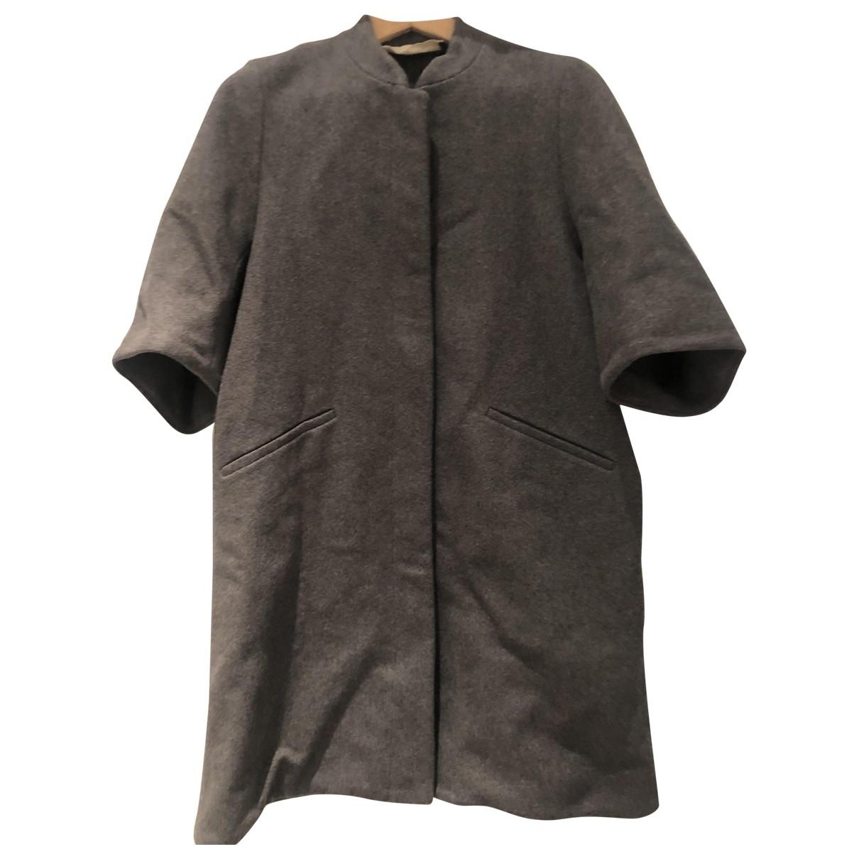 Marni - Manteau   pour femme en laine - anthracite