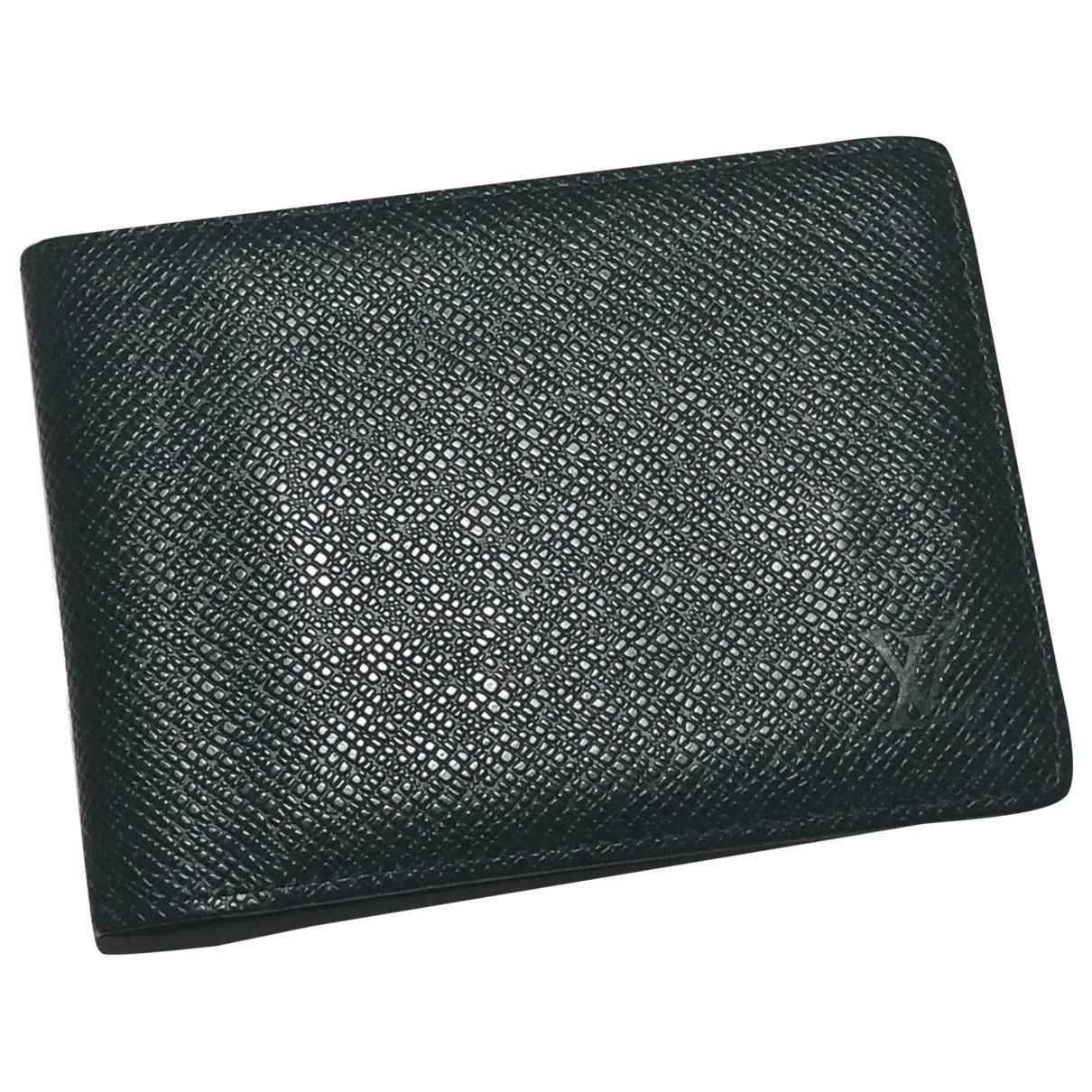 Louis Vuitton - Petite maroquinerie Multiple pour homme en cuir - vert