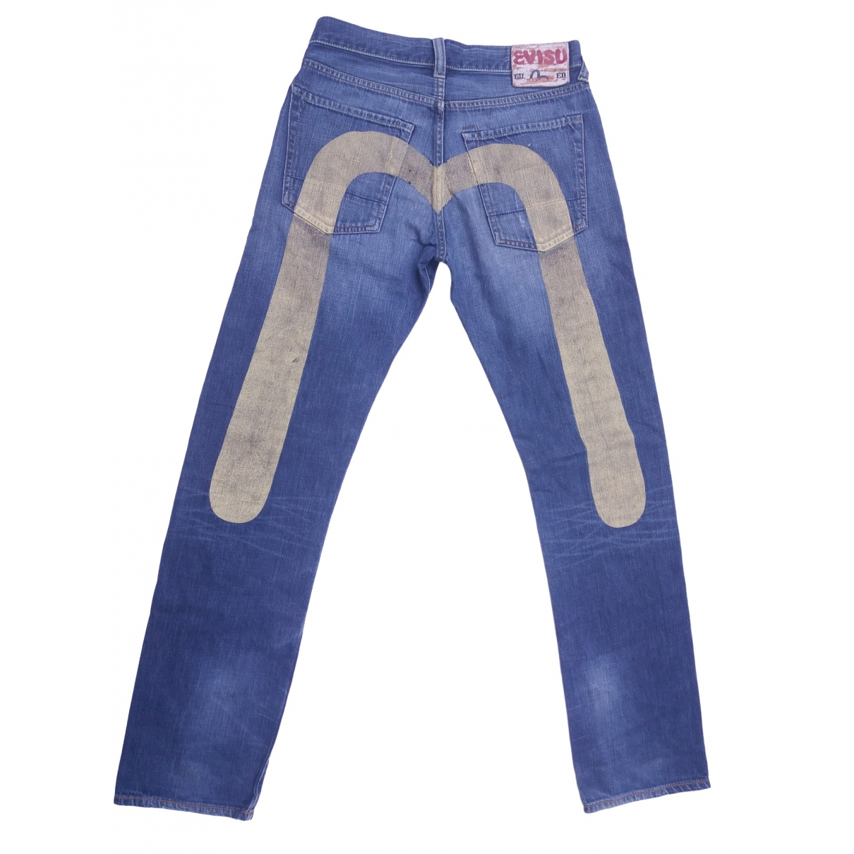 Evisu \N Blue Cotton Jeans for Men 29 US