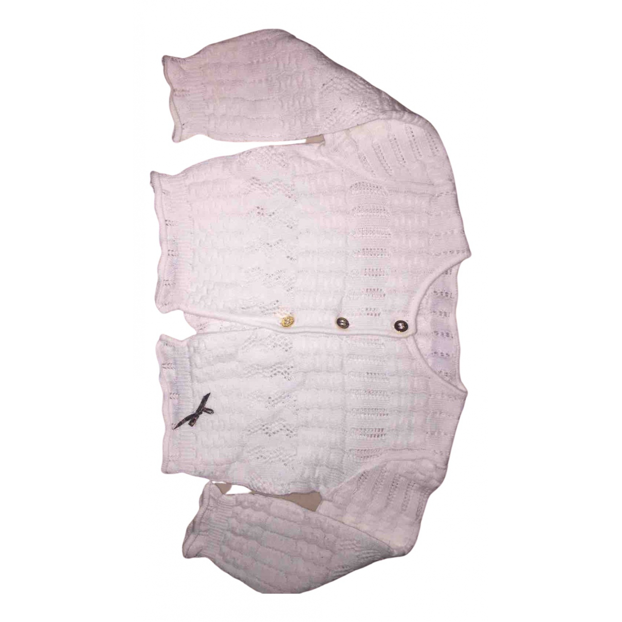 Roberto Cavalli N White Cotton  top for Kids 6 months - up to 67cm FR