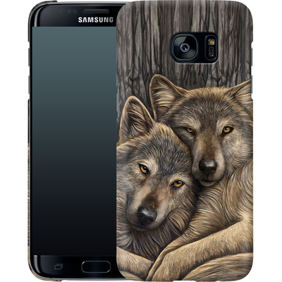 Samsung Galaxy S7 Edge Smartphone Huelle - Loyal Companions von Lisa Parker
