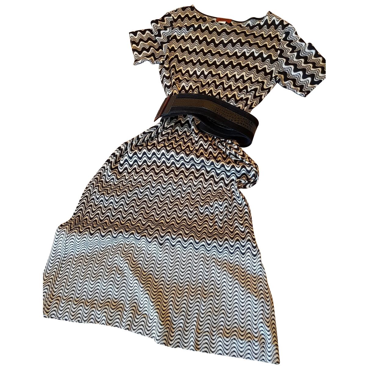 Missoni \N Kleid in  Bunt Synthetik