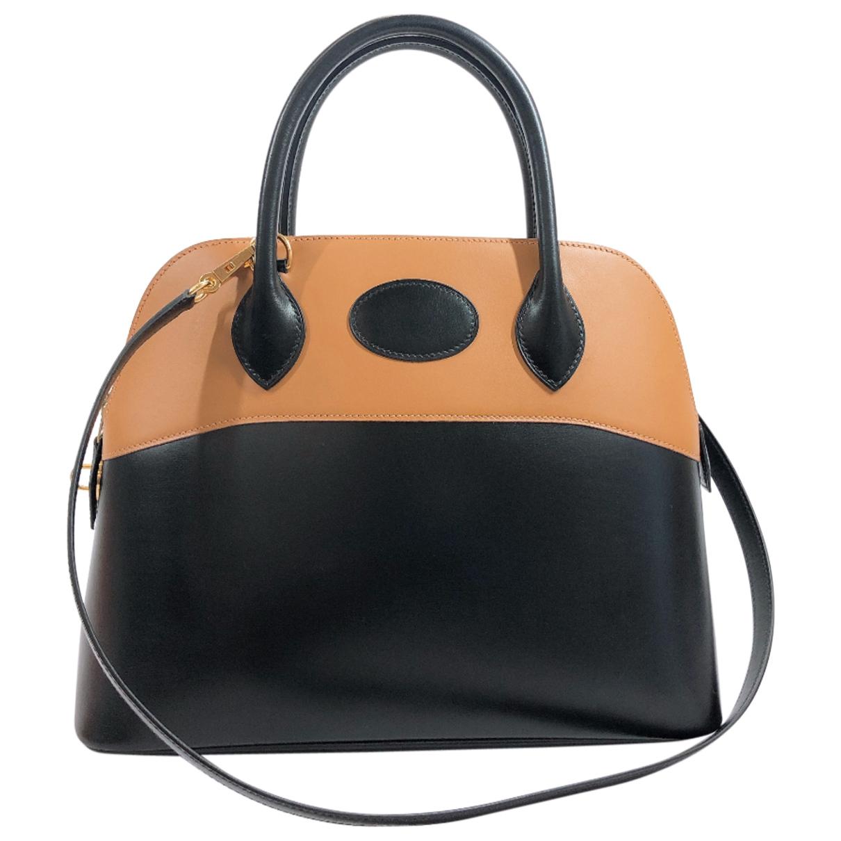 Hermes Bolide Handtasche in  Bunt Leder