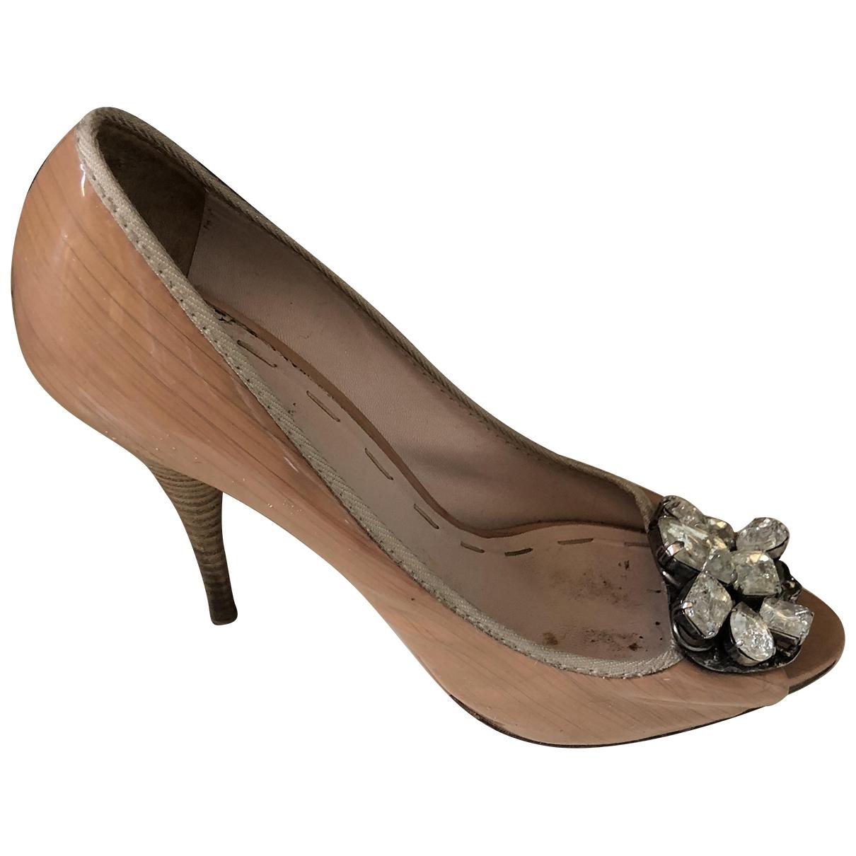 Miu Miu \N Pink Patent leather Heels for Women 40 IT