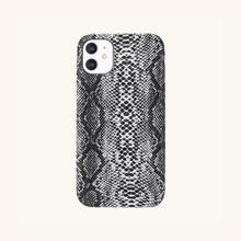 iPhone Etui mit Schlangenleder Muster