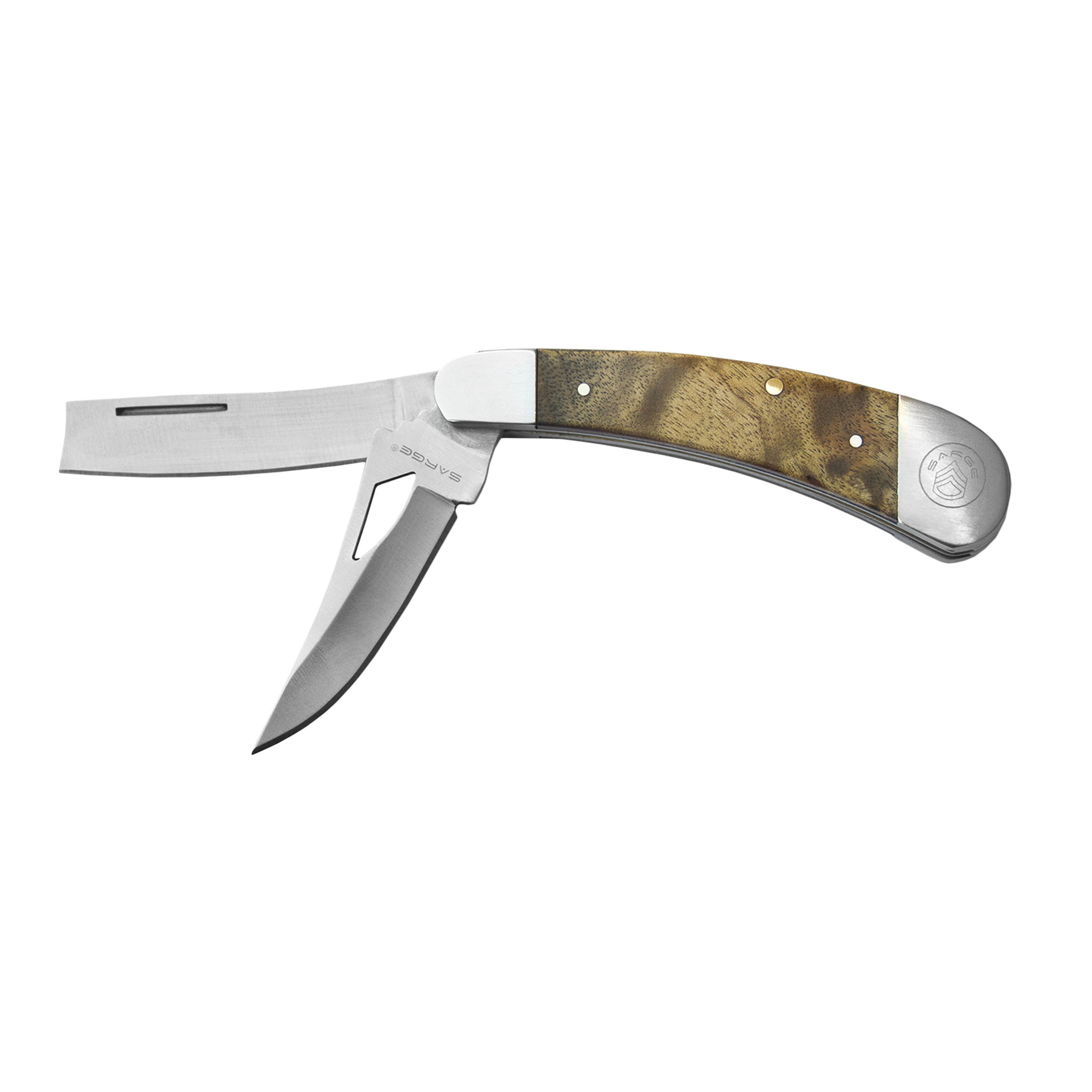 Razor XL - 2 Blade Razor Pocket Knife, Stainles Steel 2