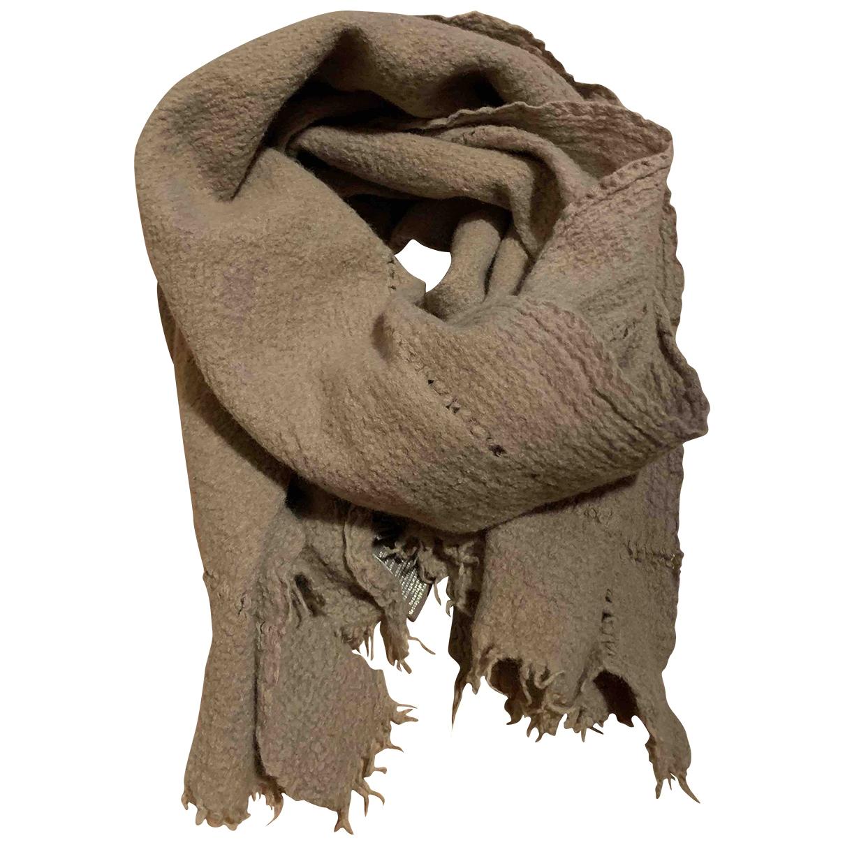 Zadig & Voltaire \N Beige Wool scarf for Women \N