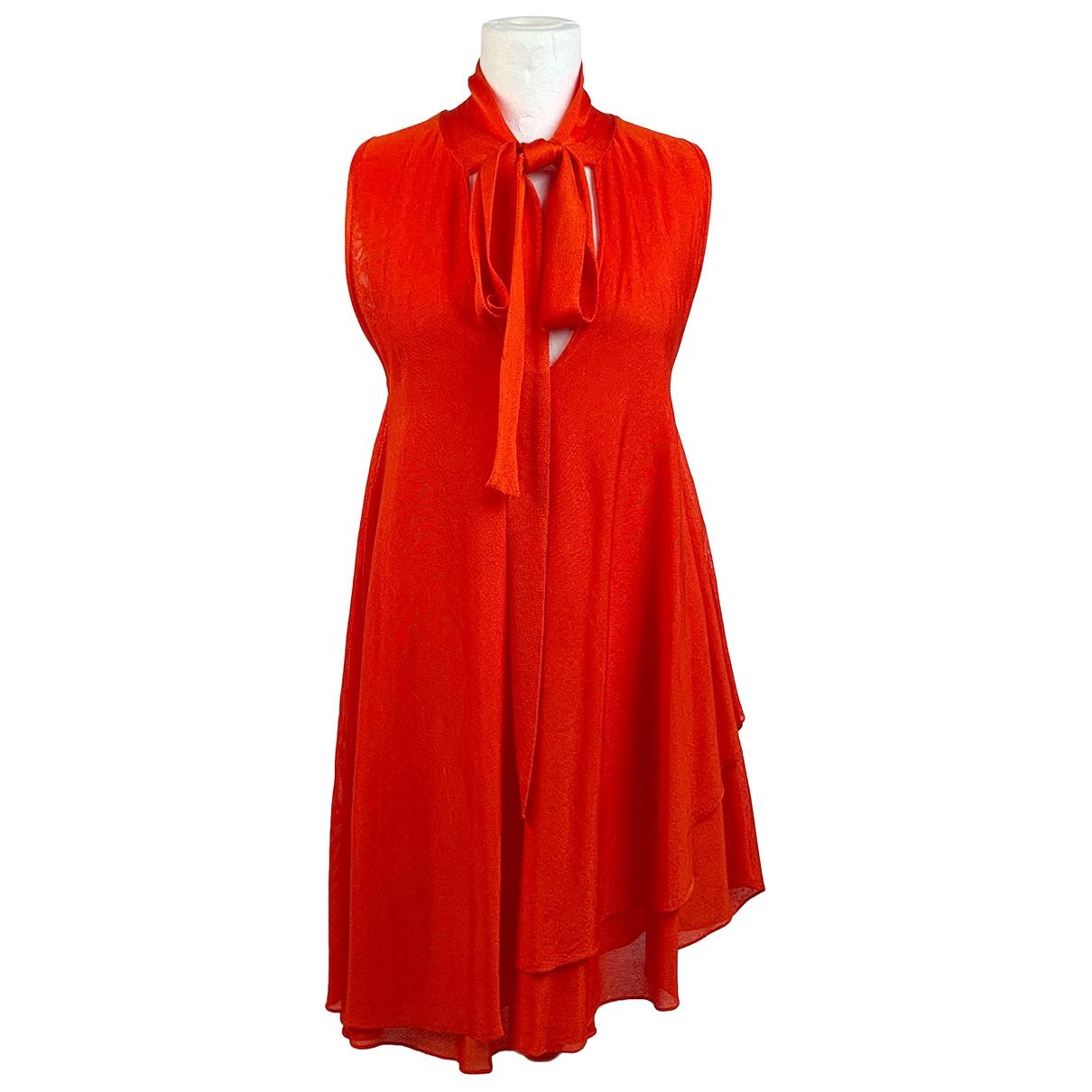 Antonio Marras \N Kleid in  Rot Viskose