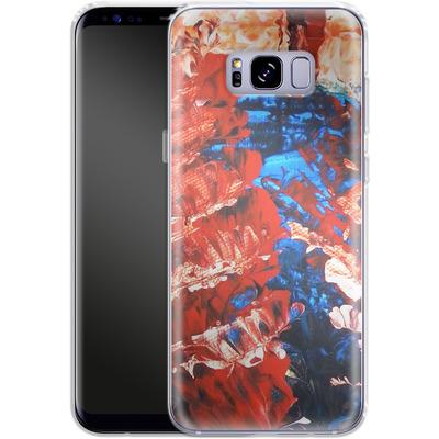 Samsung Galaxy S8 Plus Silikon Handyhuelle - Macro 11 von Gela Behrmann