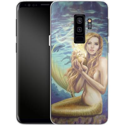 Samsung Galaxy S9 Plus Silikon Handyhuelle - Selina Fenech - Holding Magic von TATE and CO