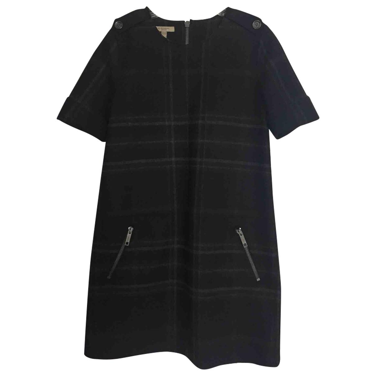 Mini vestido de Lana Burberry