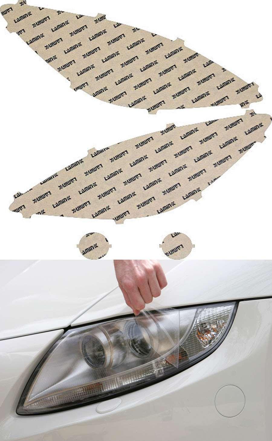 Mazdaspeed 3 Wagon 12-13 Clear Headlight Covers Lamin-X M527CL