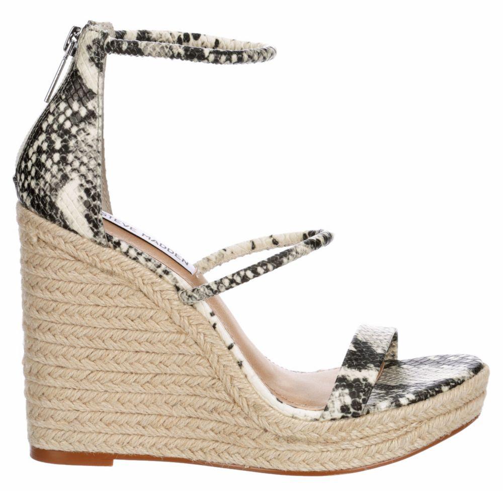 Steve Madden Womens Jennis Espadrille Wedge Sandals
