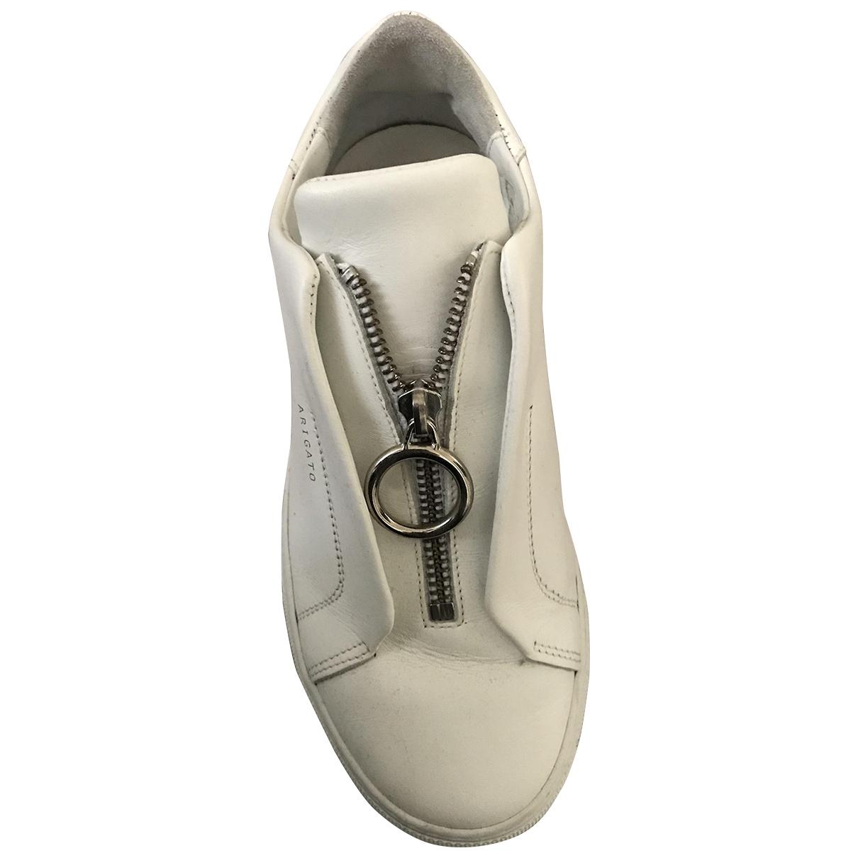 Axel Arigato - Baskets   pour femme en cuir - blanc