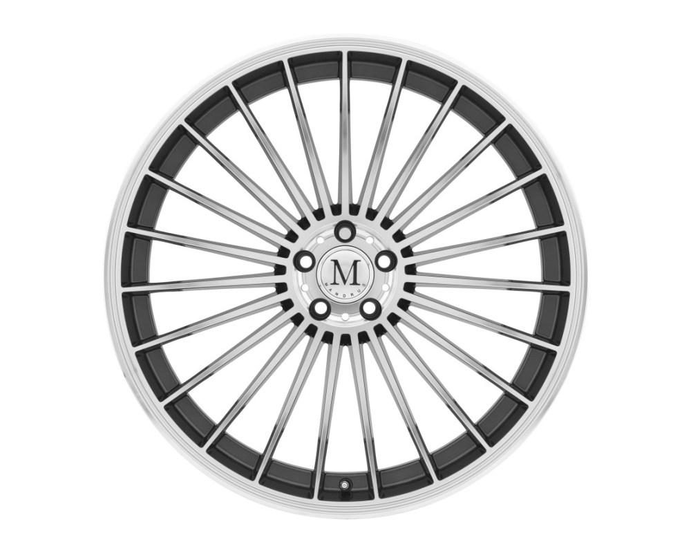 Mandrus 23 Wheel 18x9.5 5x112 25mm Gunmetal w/ Mirror Cut Face