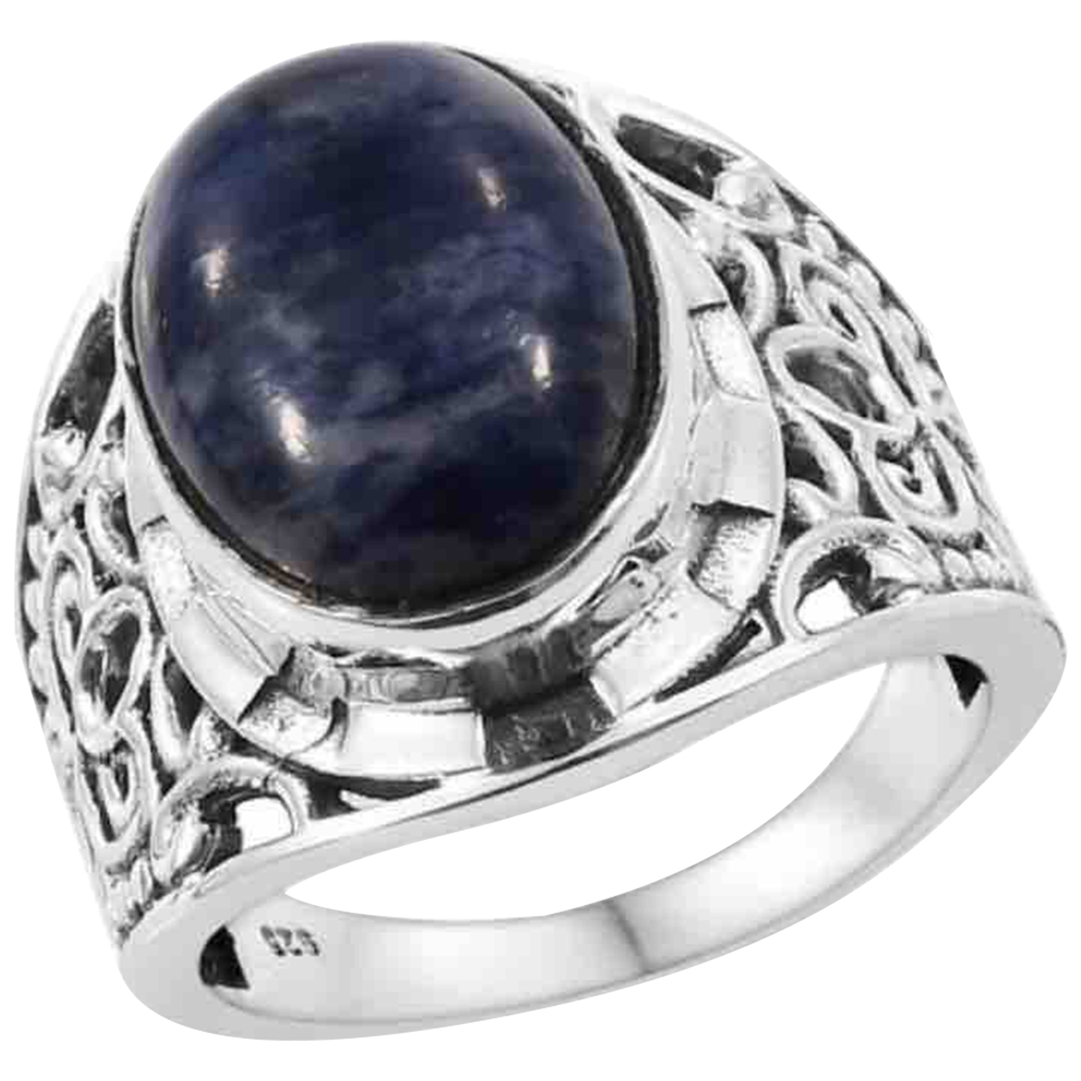 Non Signé / Unsigned \N Silver Silver ring for Women M ½ UK