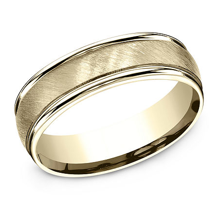 6MM 10K Gold Wedding Band, 9 , No Color Family