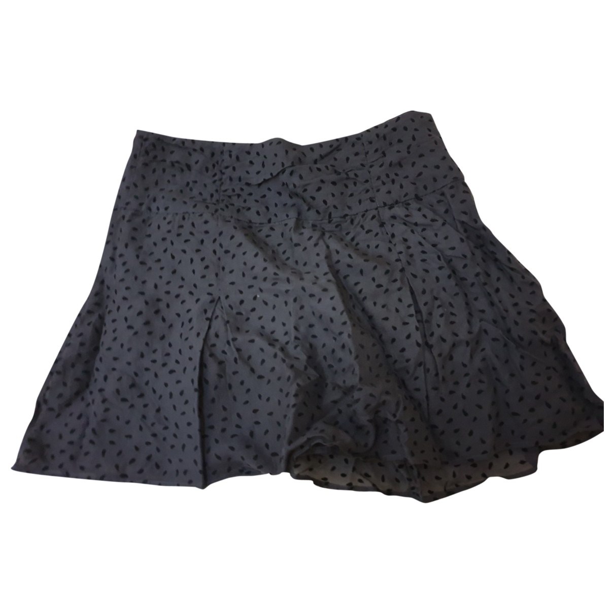 Tara Jarmon \N Grey Silk skirt for Women 36 FR