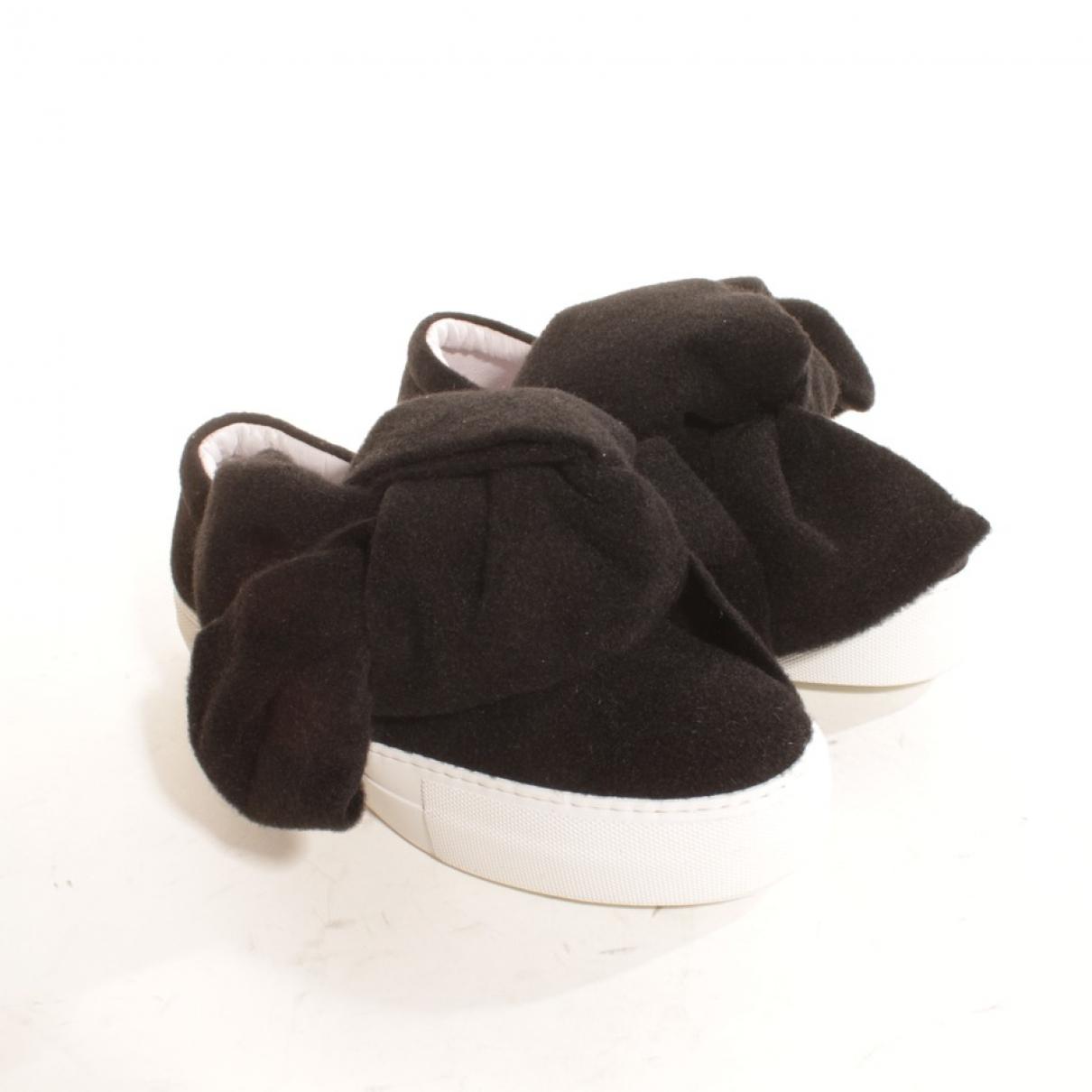 Joshua Sanders \N Sneakers in  Schwarz Leder