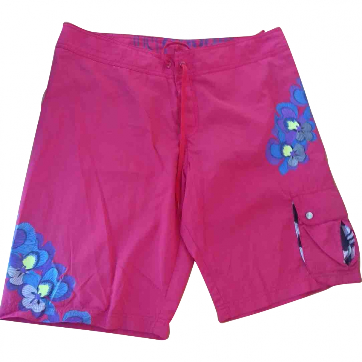 Just Cavalli \N Shorts in  Rosa Polyester
