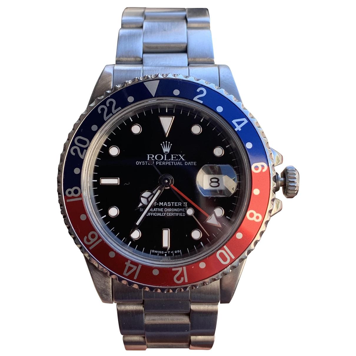 Rolex - Montre GMT-Master II pour homme en argent - metallise