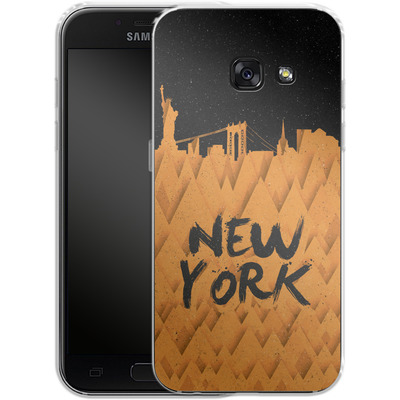 Samsung Galaxy A3 (2017) Silikon Handyhuelle - New York City von Danny Ivan