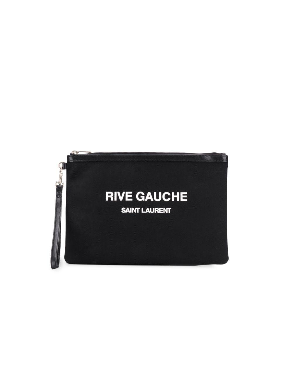 Rive Gauche Cotton Pouch