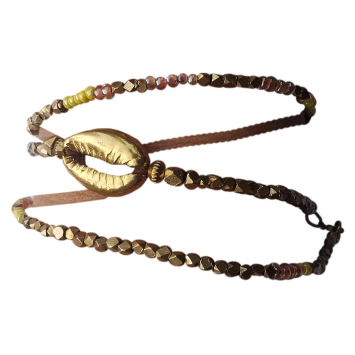 Gas - Bracelet   pour femme en acier - dore