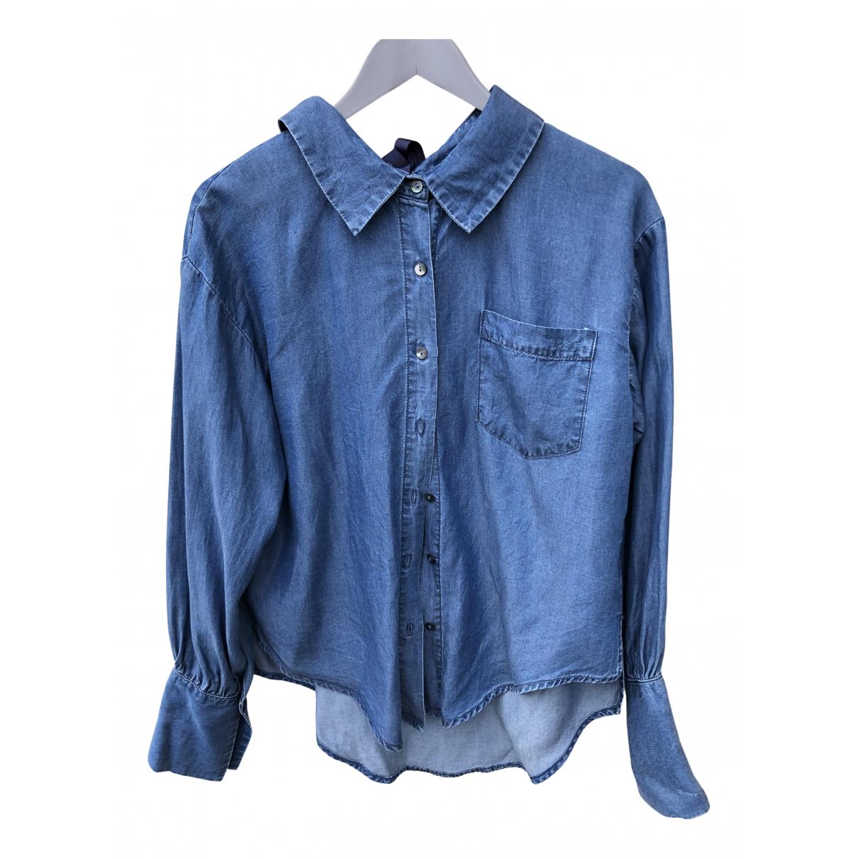 - Top   pour femme en denim - bleu