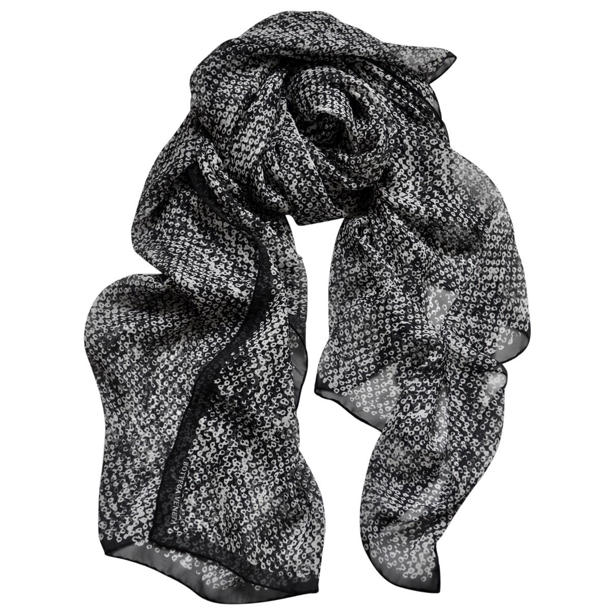 Bottega Veneta \N Black Silk scarf for Women \N