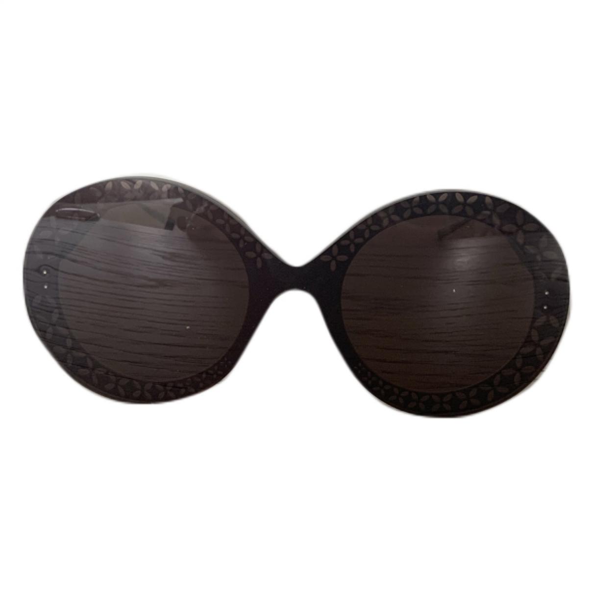 Alaia \N Sonnenbrillen in  Schwarz Metall