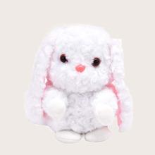 Bolso bandolera mullido mini con diseño de conejo