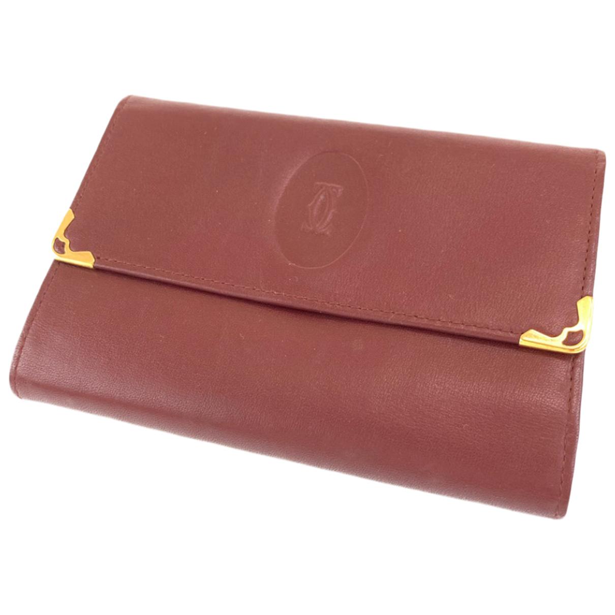 Cartier - Petite maroquinerie   pour femme en cuir