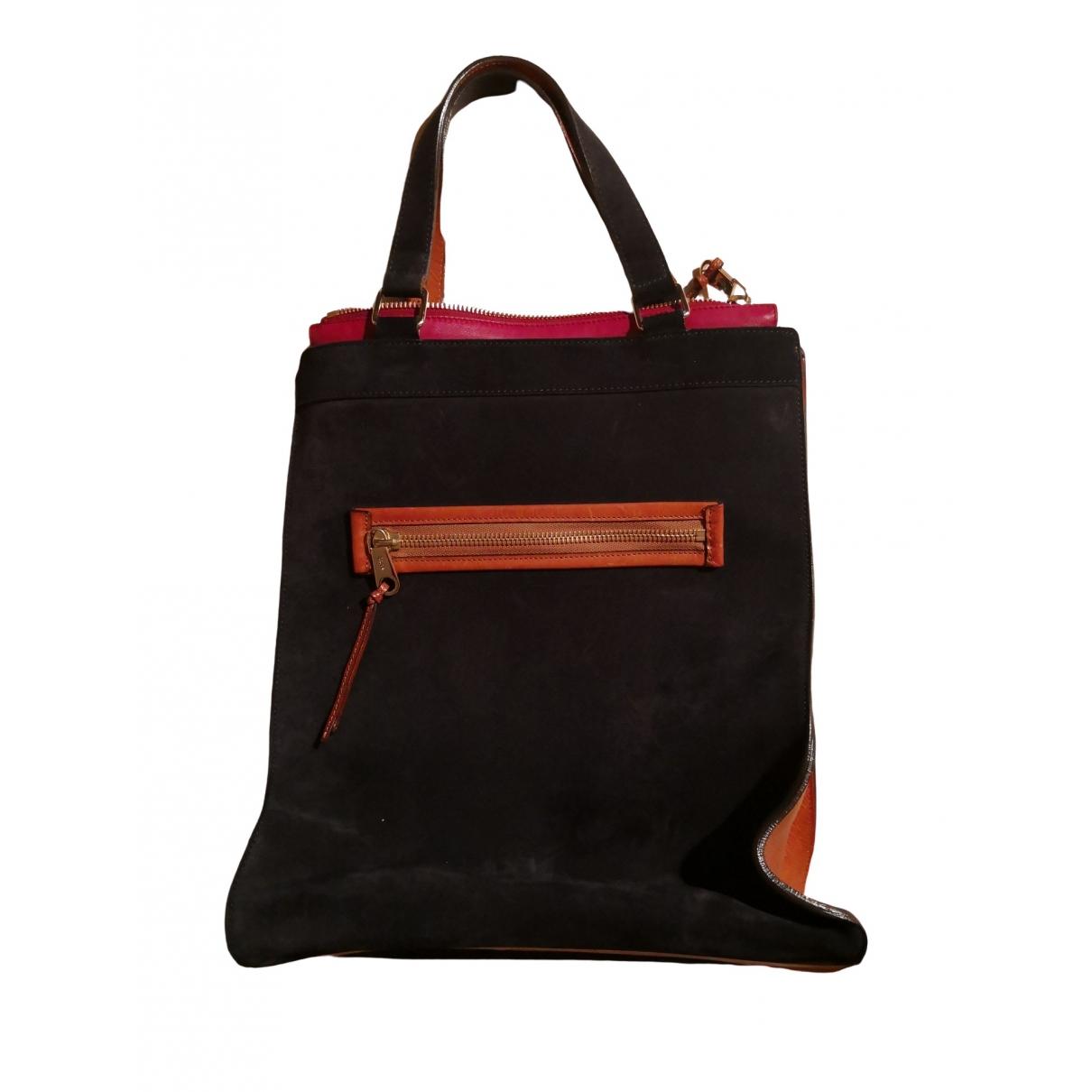 Chloé \N Blue Suede handbag for Women \N