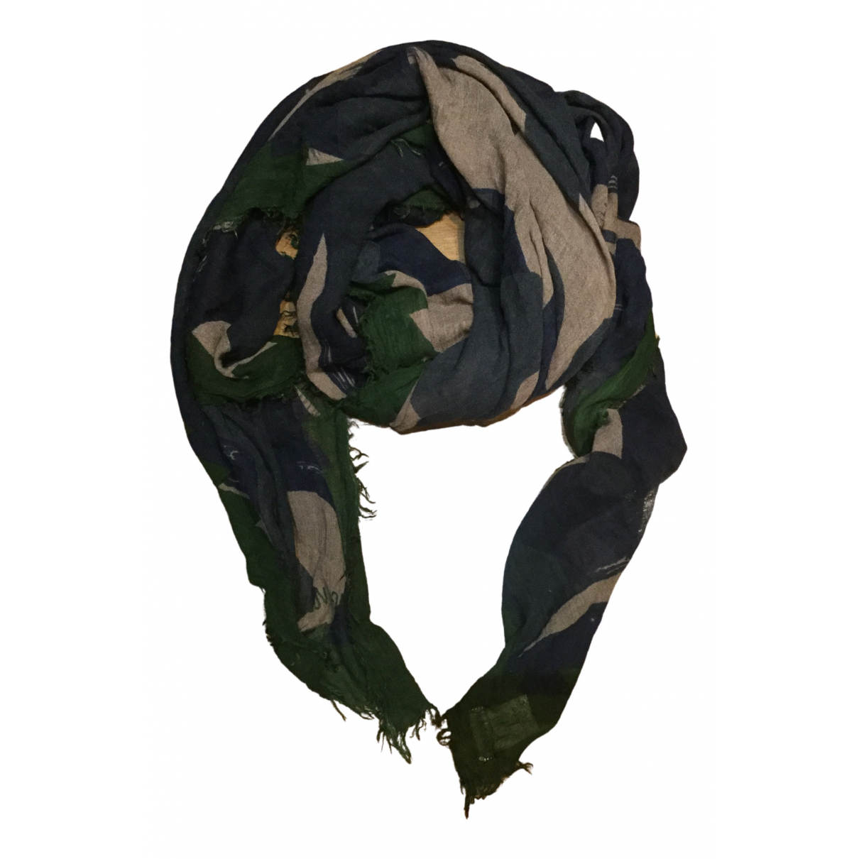 Zadig & Voltaire N Khaki scarf for Women N