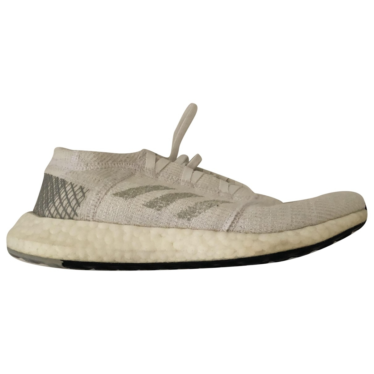 Adidas PureBOOST White Trainers for Women 5 UK