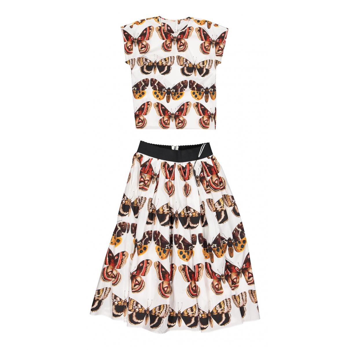 Dolce & Gabbana \N Multicolour Cotton skirt for Women 38 IT