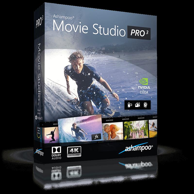 Ashampoo® Movie Studio Pro 3