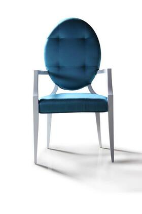 VGDVLS303 Versus Emma - Turquoise Fabric Dining Chair (Set of
