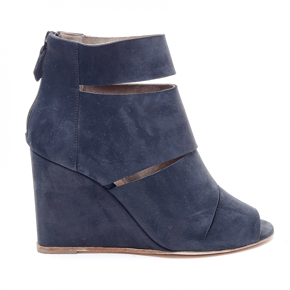 Hermès \N Grey Suede Ankle boots for Women 37 EU