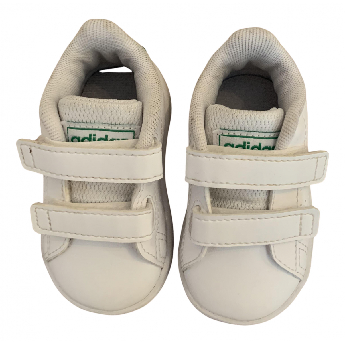 Adidas - Baskets Stan Smith pour enfant en cuir - blanc