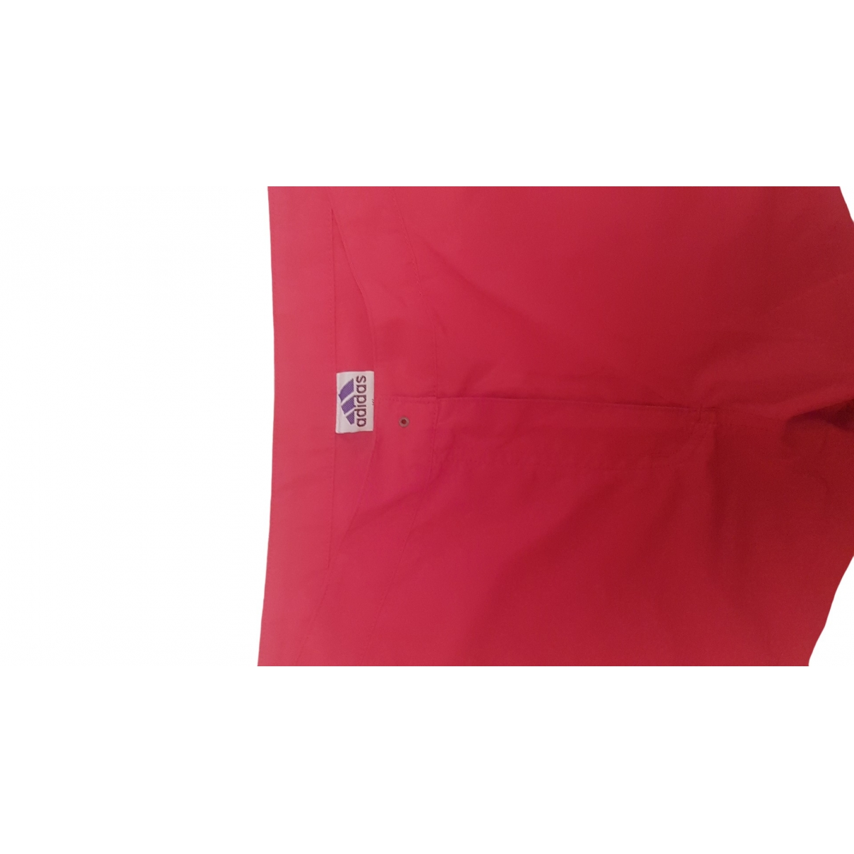 Adidas \N Red Shorts for Women 42 FR