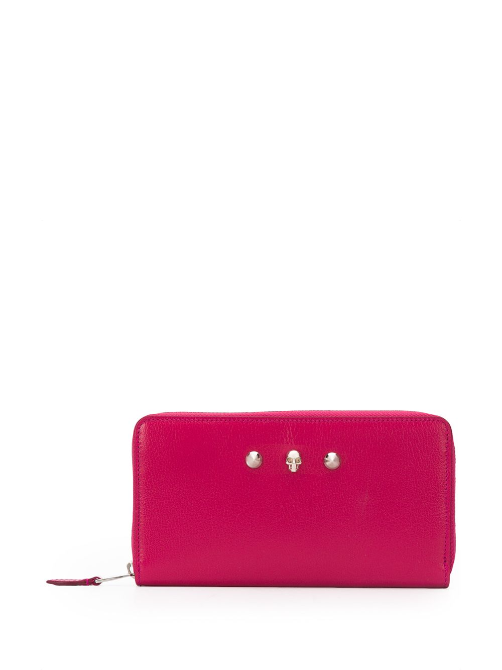 Zip Around Continental Leather Wallet