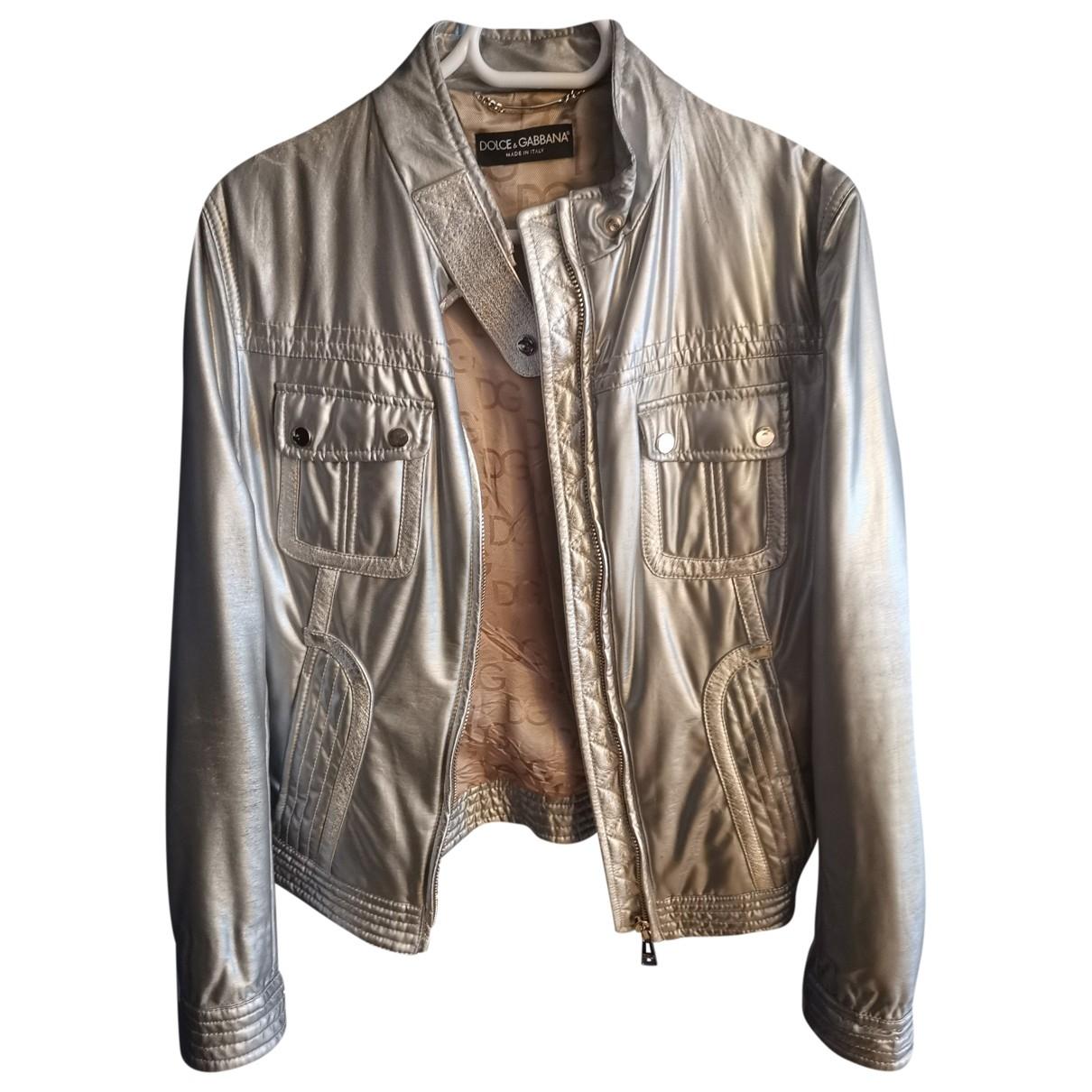 Dolce & Gabbana \N Jacke in  Silber Polyester